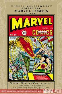 Marvel Masterworks: Golden Age Marvel Comics Vol. 4 (Hardcover)