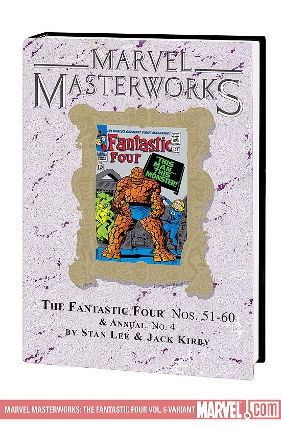 MARVEL MASTERWORKS: THE FANTASTIC FOUR VOL. 6 HC (Hardcover)