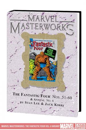 Marvel Masterworks: The Fantastic Four Vol. 6 Variant (Hardcover)