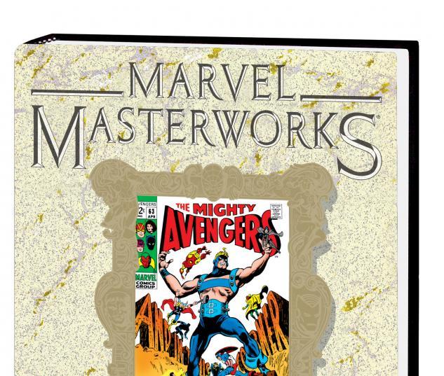 MARVEL MASTERWORKS: THE AVENGERS VOL. 7 HC VARIANT #0