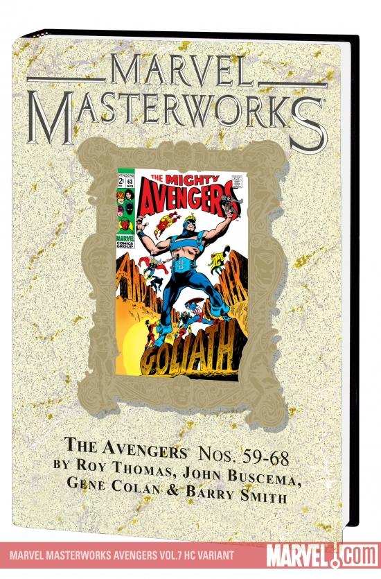 MARVEL MASTERWORKS: THE AVENGERS VOL. 7 HC (Hardcover)