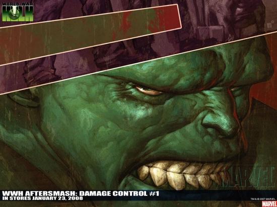 WWH AFTERSMASH: DAMAGE CONTROL #1 #1