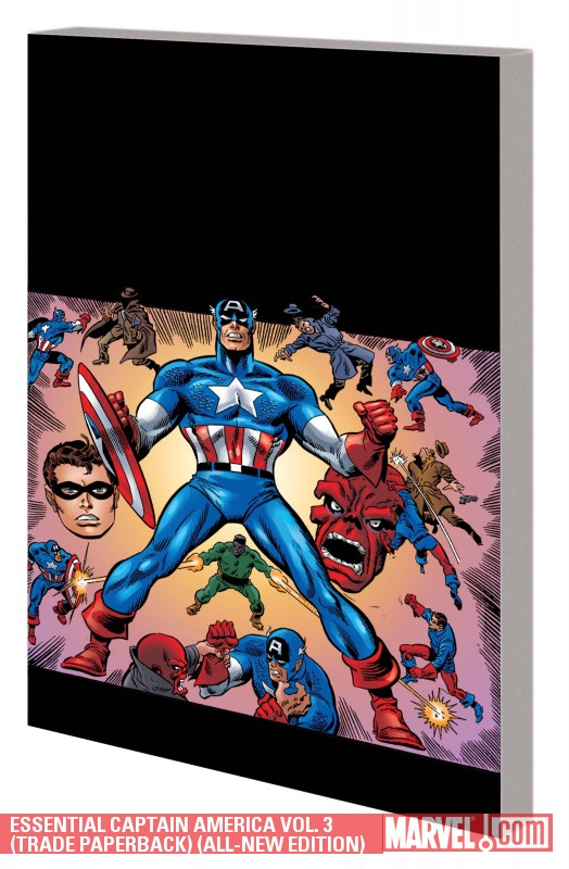Essential Captain America Vol. 3 (Trade Paperback)