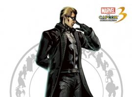 Wesker character art from Marvel vs. Capcom 3