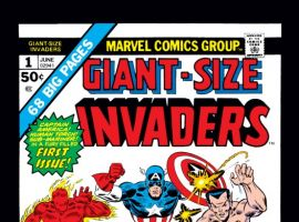 Image Featuring Captain America, Winter Soldier, Sub-Mariner, Human Torch (Jim Hammond), Invaders