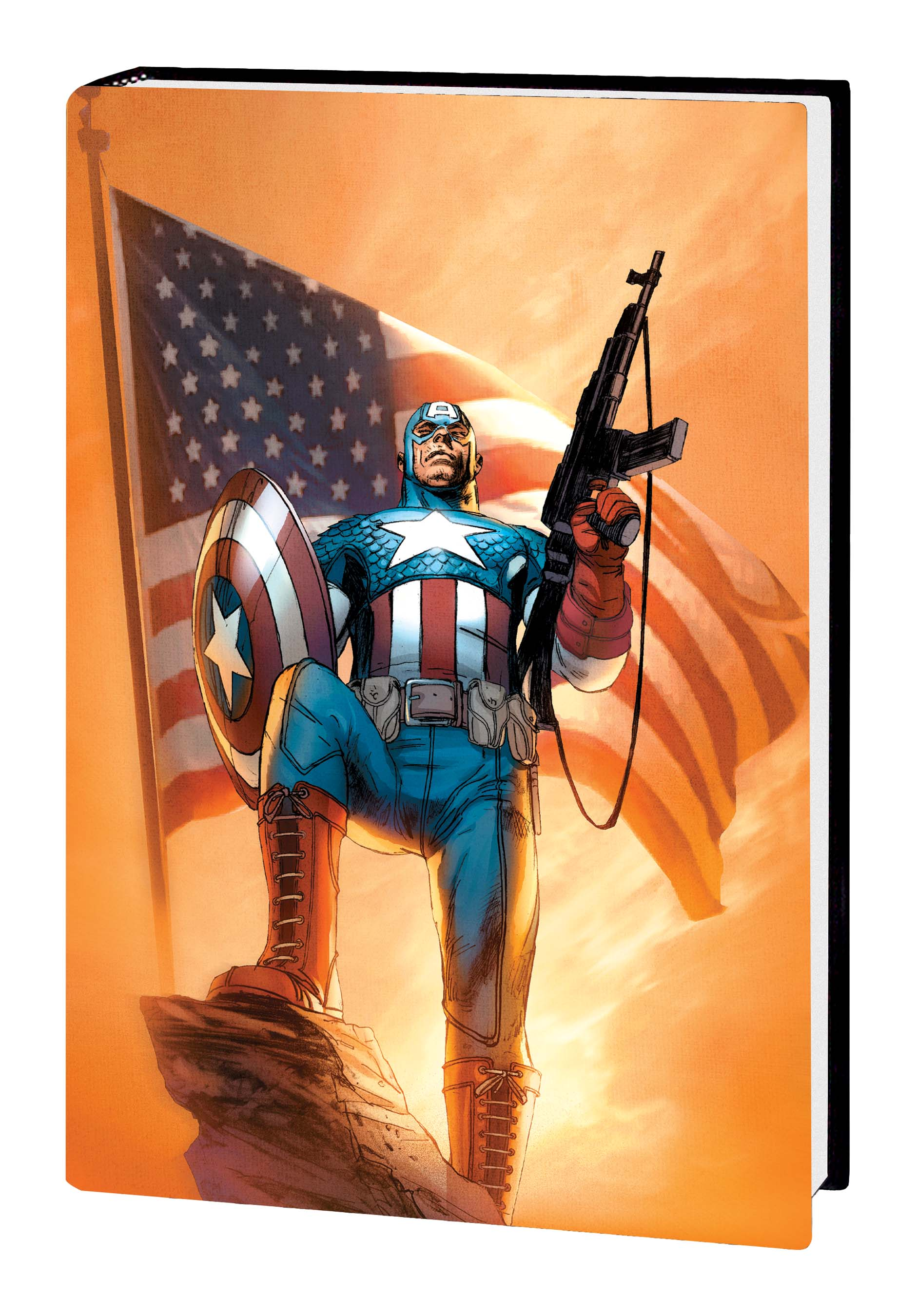 Ultimate Comics Captain America (Hardcover)