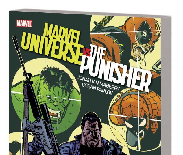 Marvel Universe Vs. Wolverine TPB cover