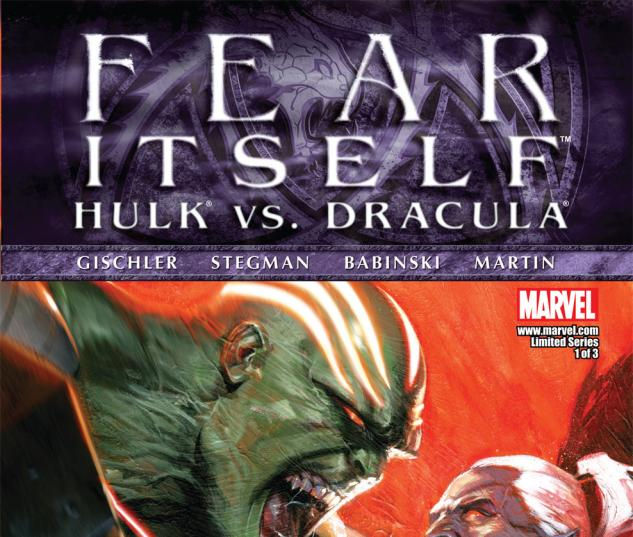 Fear Itself: Hulk vs. Dracula (2011) #1