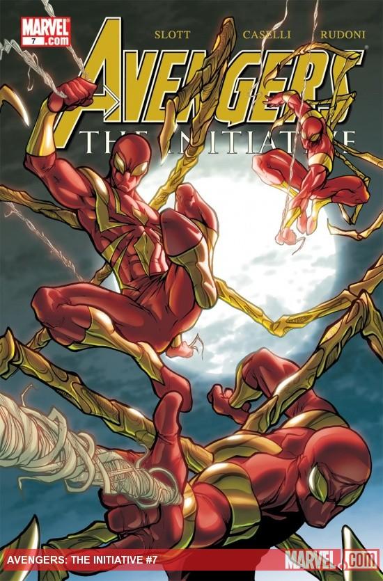 Avengers: The Initiative (2007) #7
