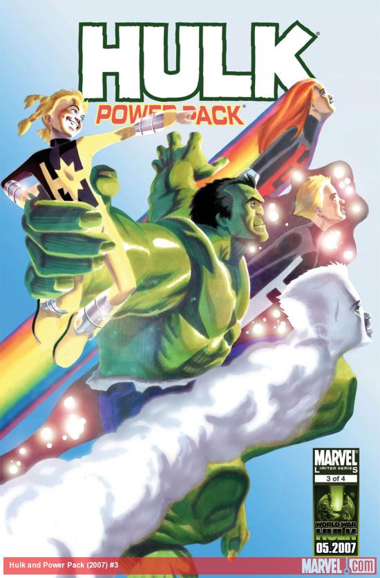 Hulk and Power Pack (2007) #3