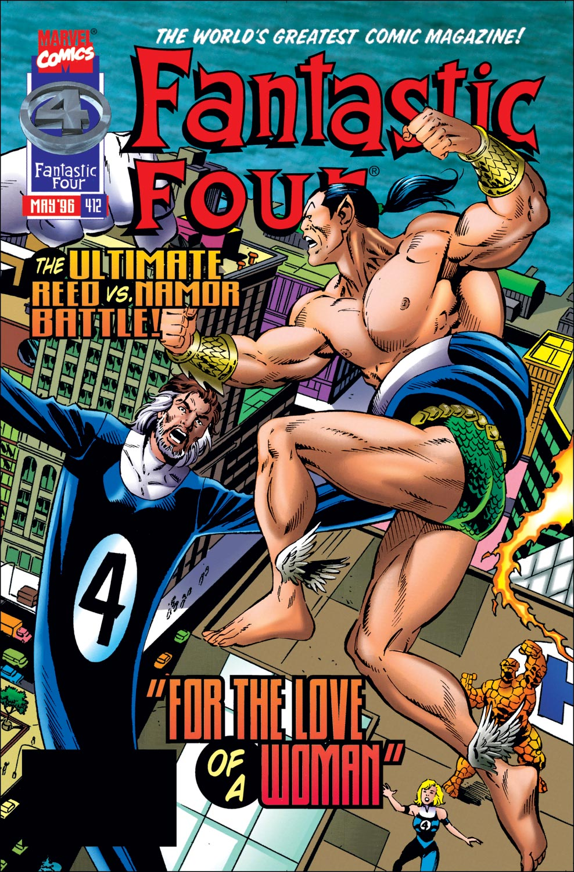 Fantastic Four (1961) #412