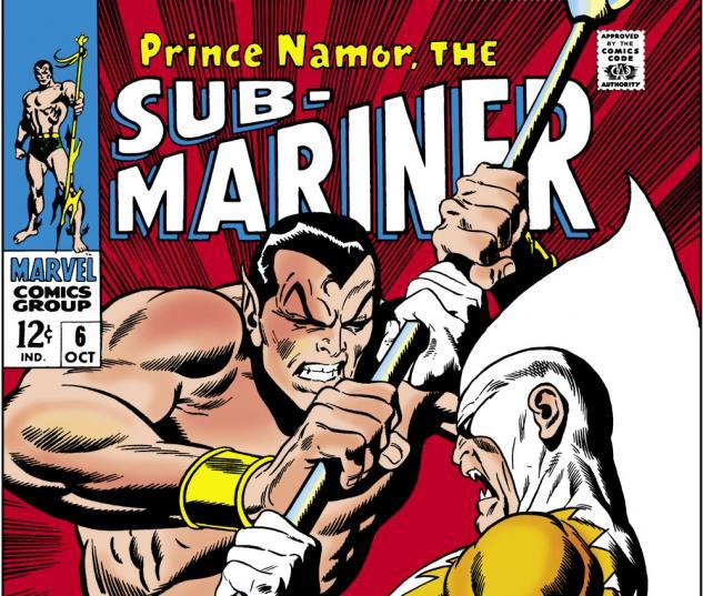 Sub-Mariner (1968) #6 Cover