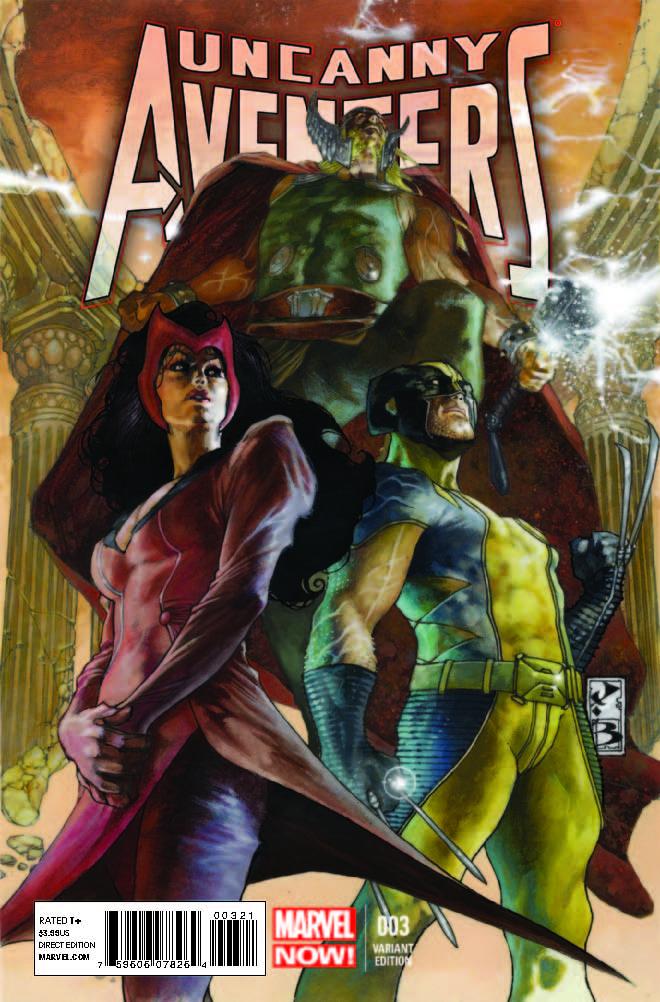 Uncanny Avengers (2012) #3 (Bianchi Variant)