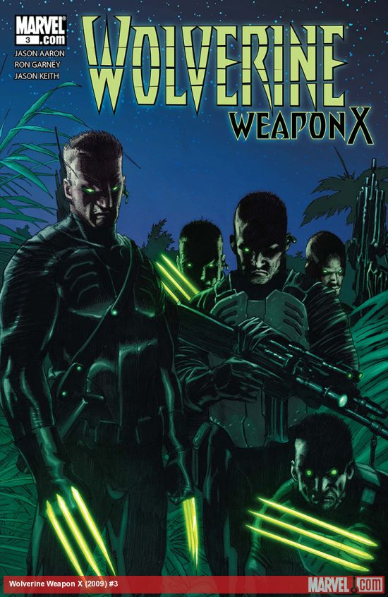 Wolverine Weapon X (2009) #3