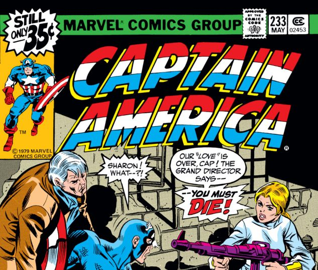 Captain America (1968) #233 Cover