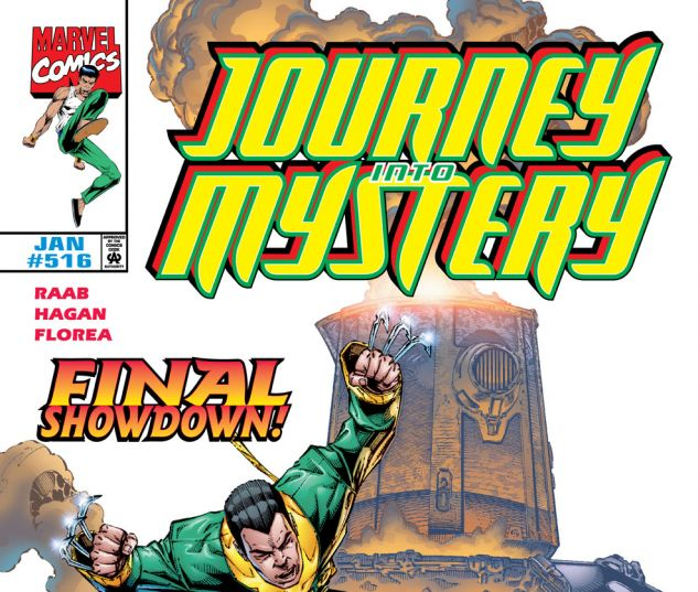 Journey Into Mystery (1996) #516 Cover