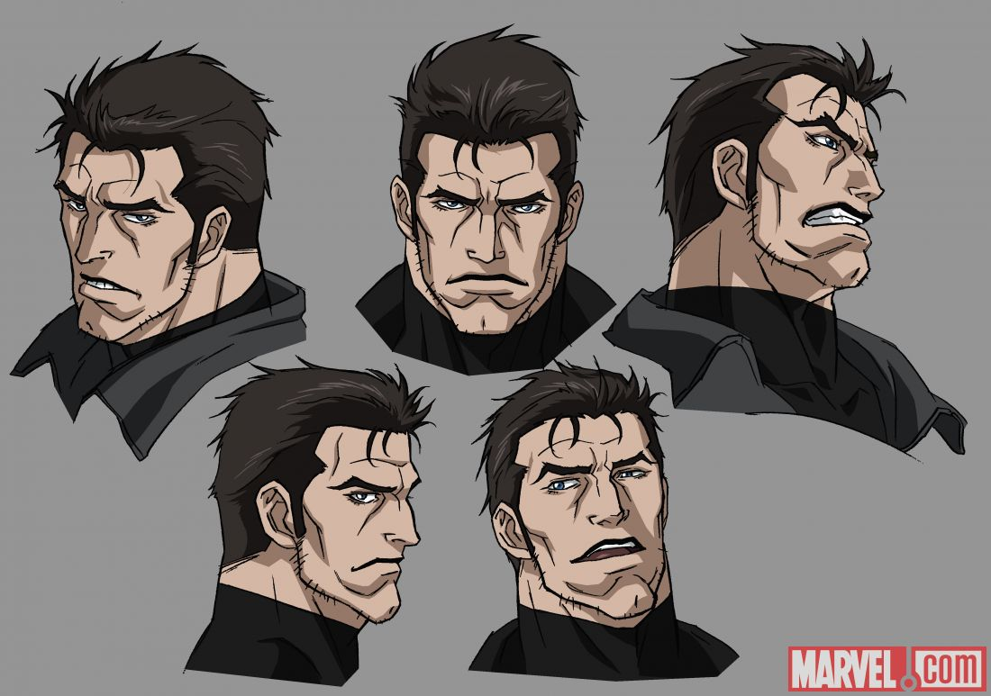 Concept Art From Avengers Fortrolige Black Widow Punisher-7617