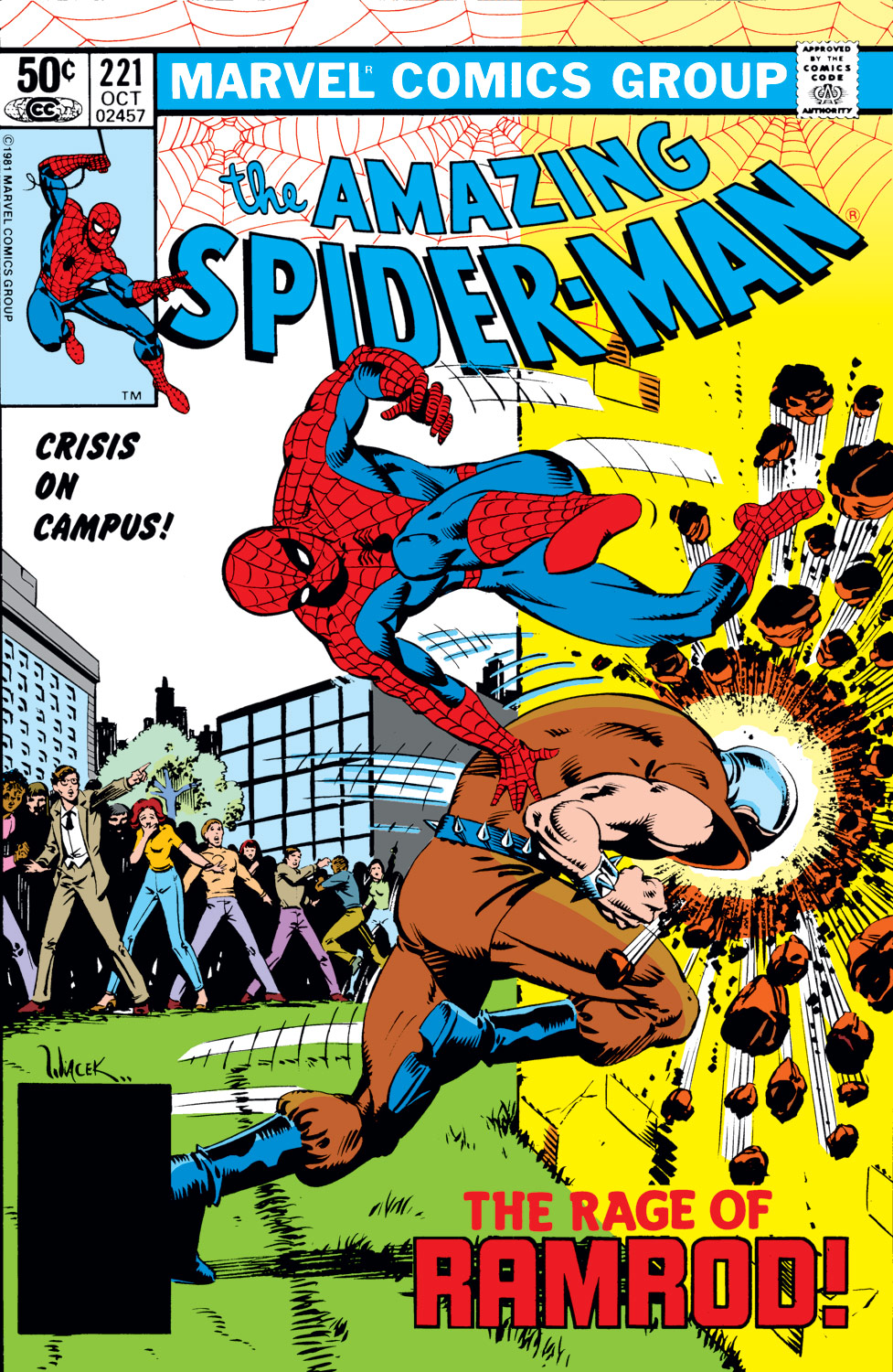 The Amazing Spider-Man (1963) #221