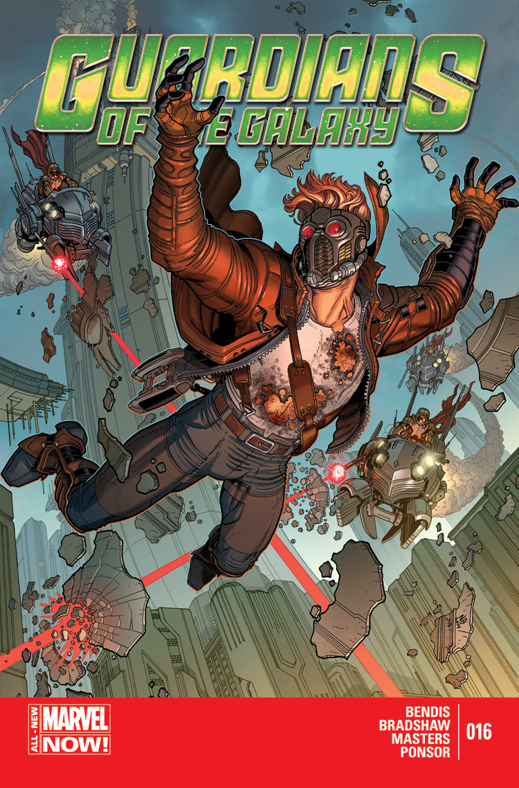 Guardians of the Galaxy (2013) #16