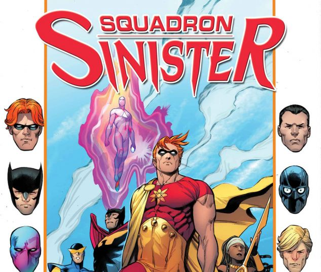 Squadron Sinister #1 cover by Carlos Pacheco