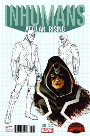 Inhumans: Attilan Rising #2  (Tbd Artist Design Variant)