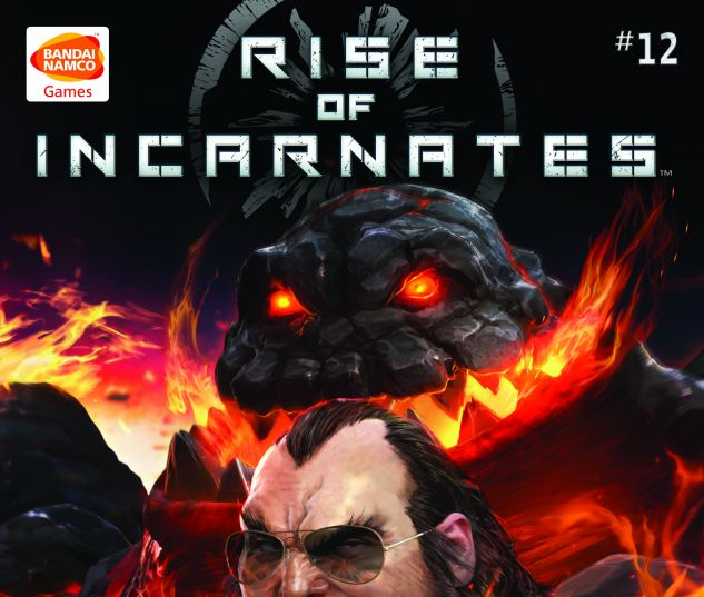 cover from Custom Namco Rise of the Incarnates (2014) #12