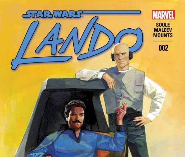 Lando (2015) #2 Cover