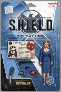 Agent Carter: S.H.I.E.L.D. 50th Anniversary (2015) #1 (Christopher Action Figure Variant)