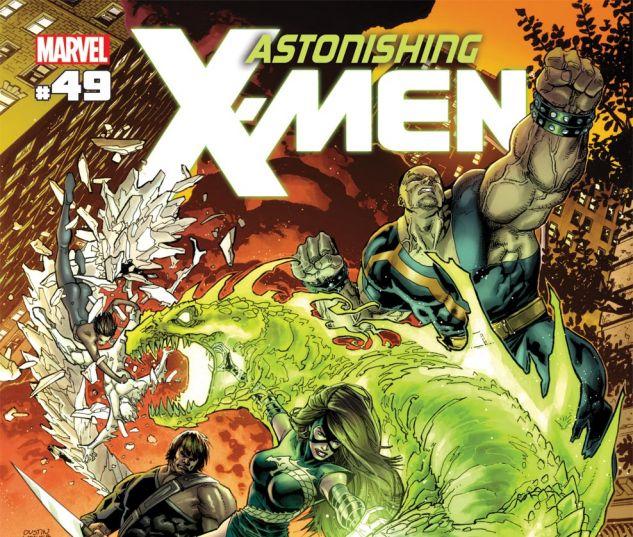 ASTONISHING X-MEN (2004) #49 Cover