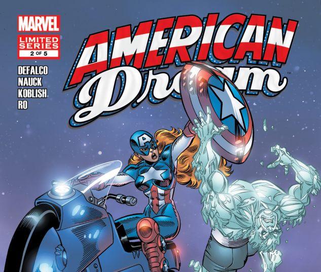 AMERICAN DREAM (2008) #2 Cover