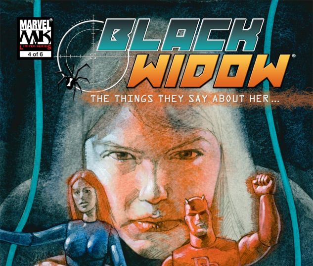 Black Widow: The Things They Say About Her (2005) #4
