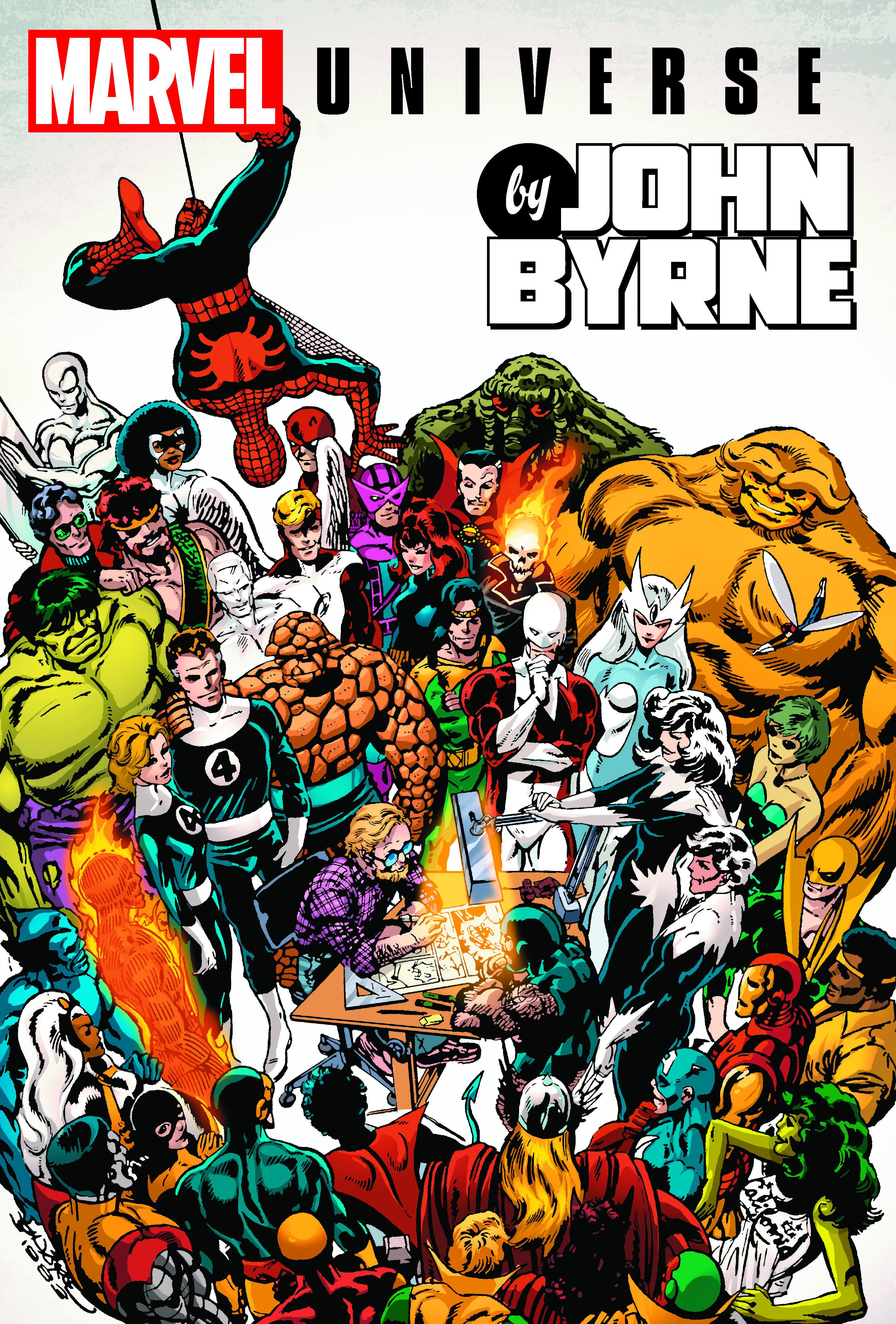 MARVEL UNIVERSE BY JOHN BYRNE OMNIBUS HC (Hardcover)