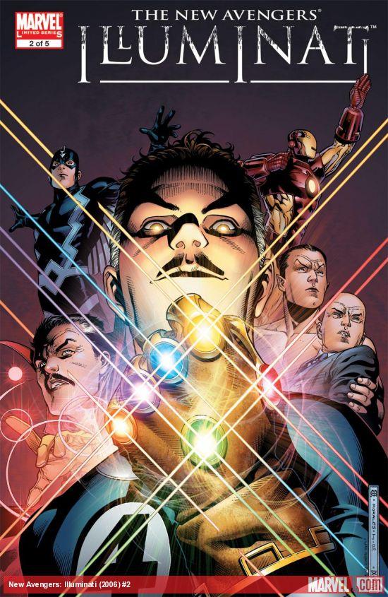 New Avengers: Illuminati (2006) #2