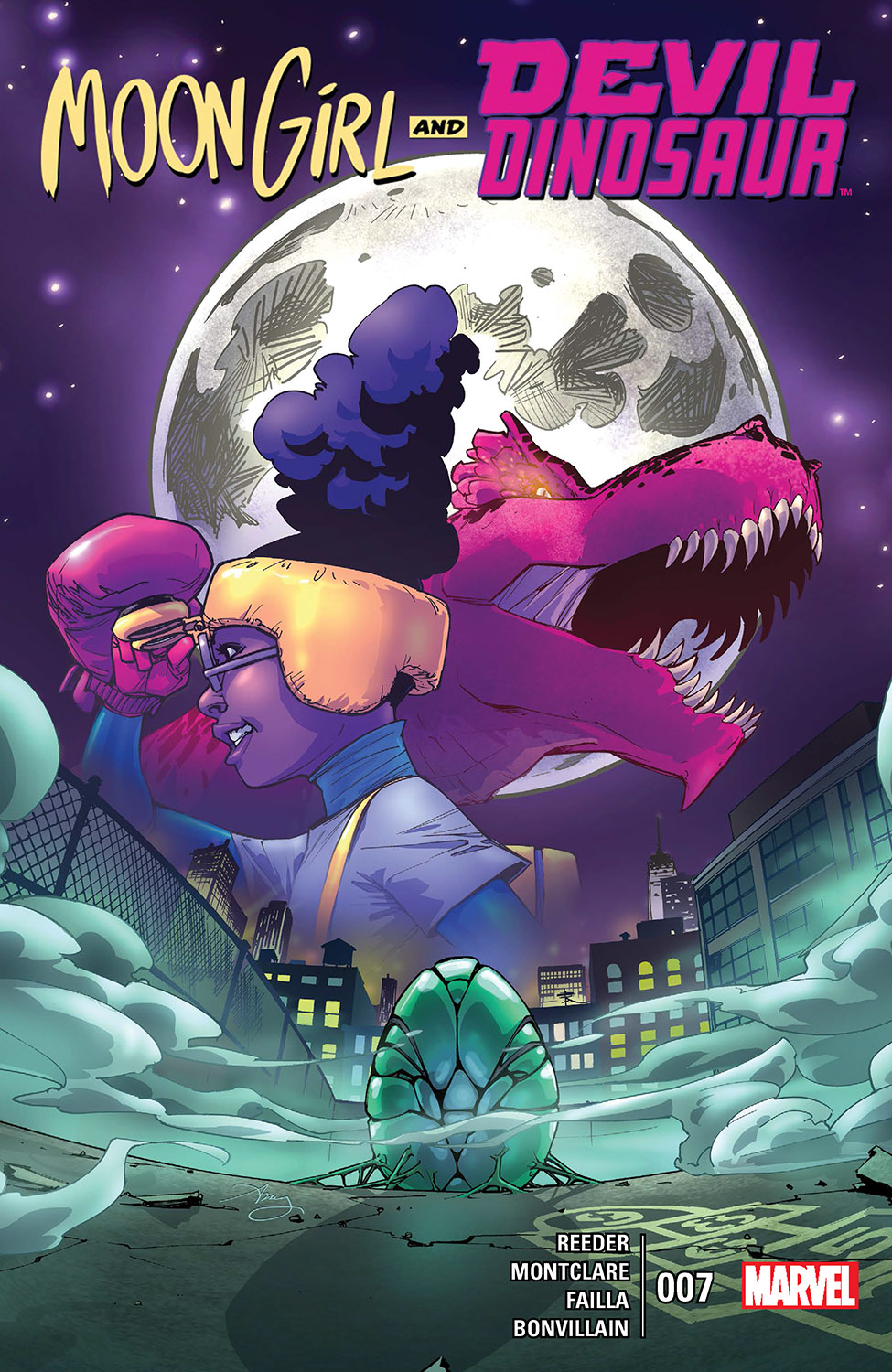 Moon Girl and Devil Dinosaur (2015) #7