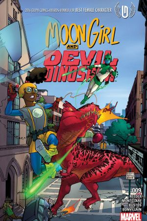 Moon Girl and Devil Dinosaur (2015) #9