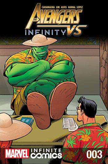 Avengers Vs Infinity (2015) #3