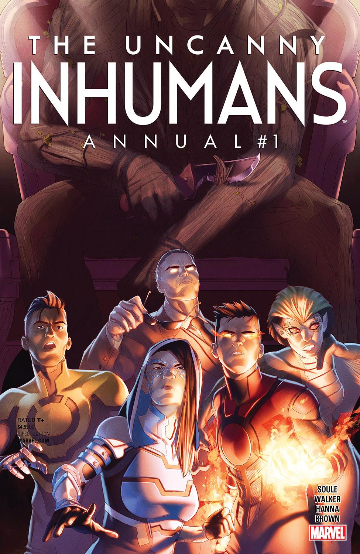Uncanny Inhumans Annual (2016) #1