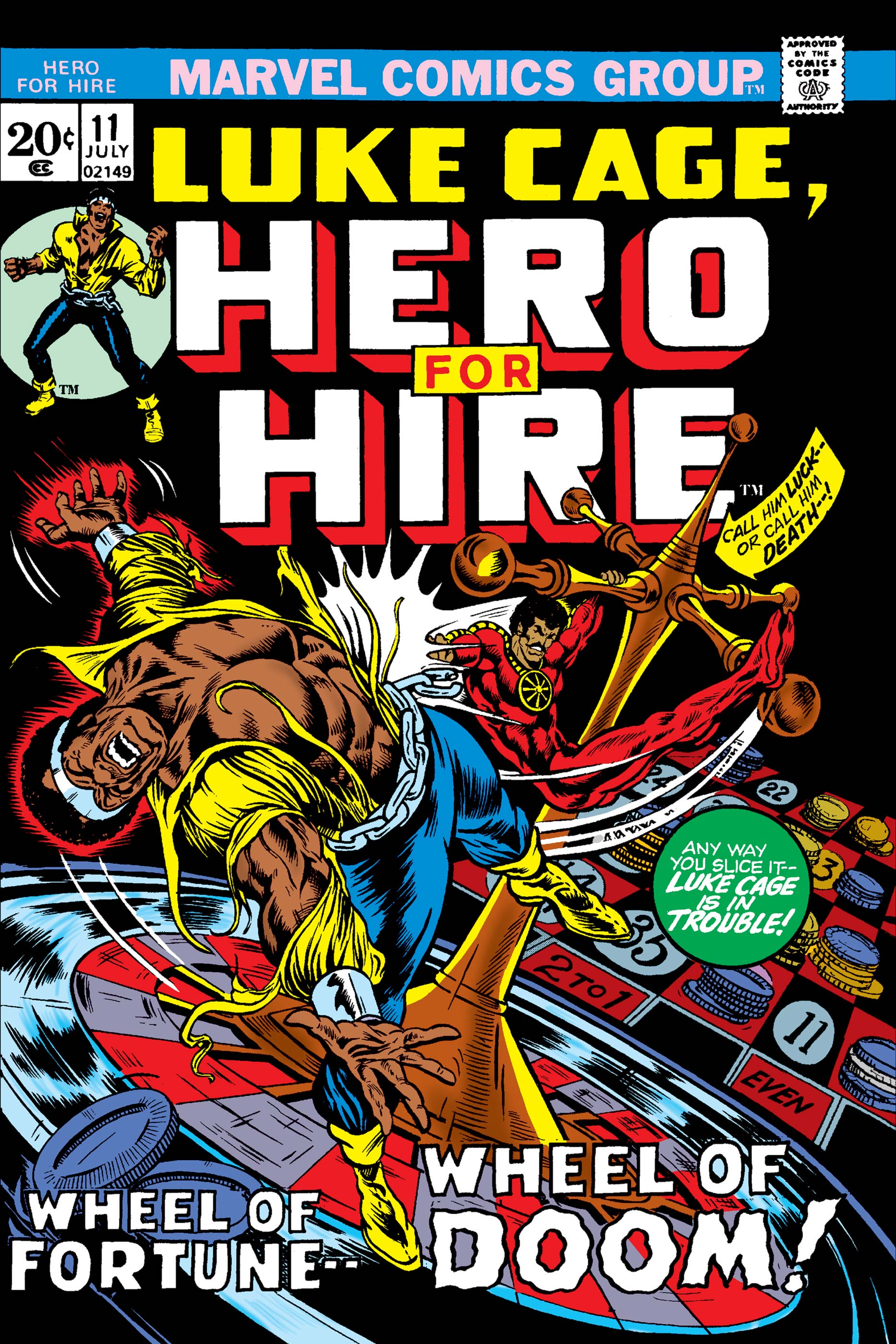 Luke Cage, Hero for Hire (1972) #11
