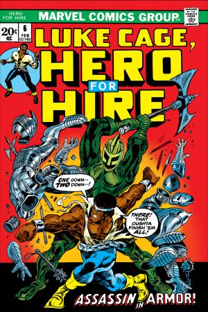 Luke Cage, Hero for Hire #6