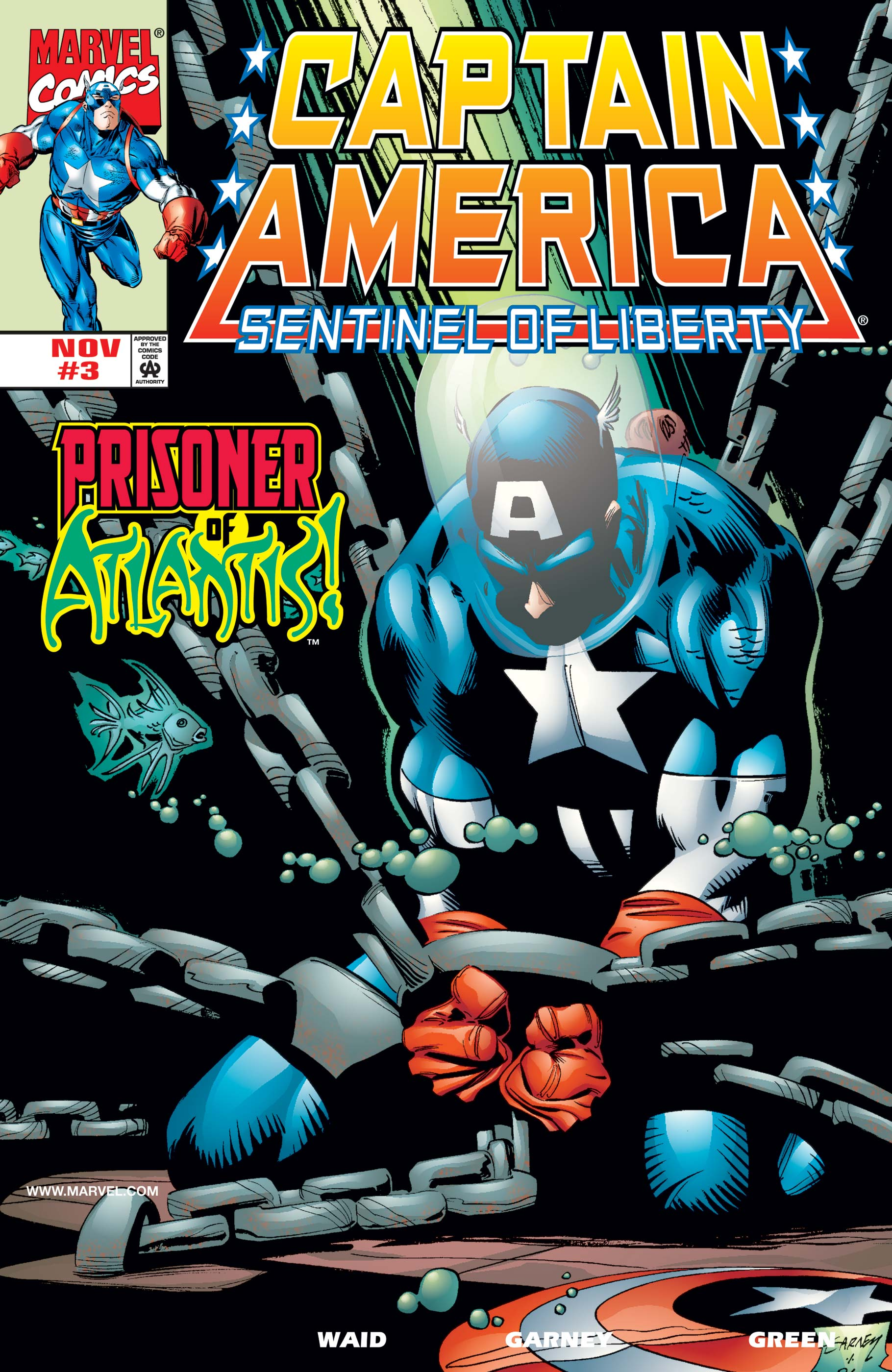 Captain America: Sentinel of Liberty (1998) #3