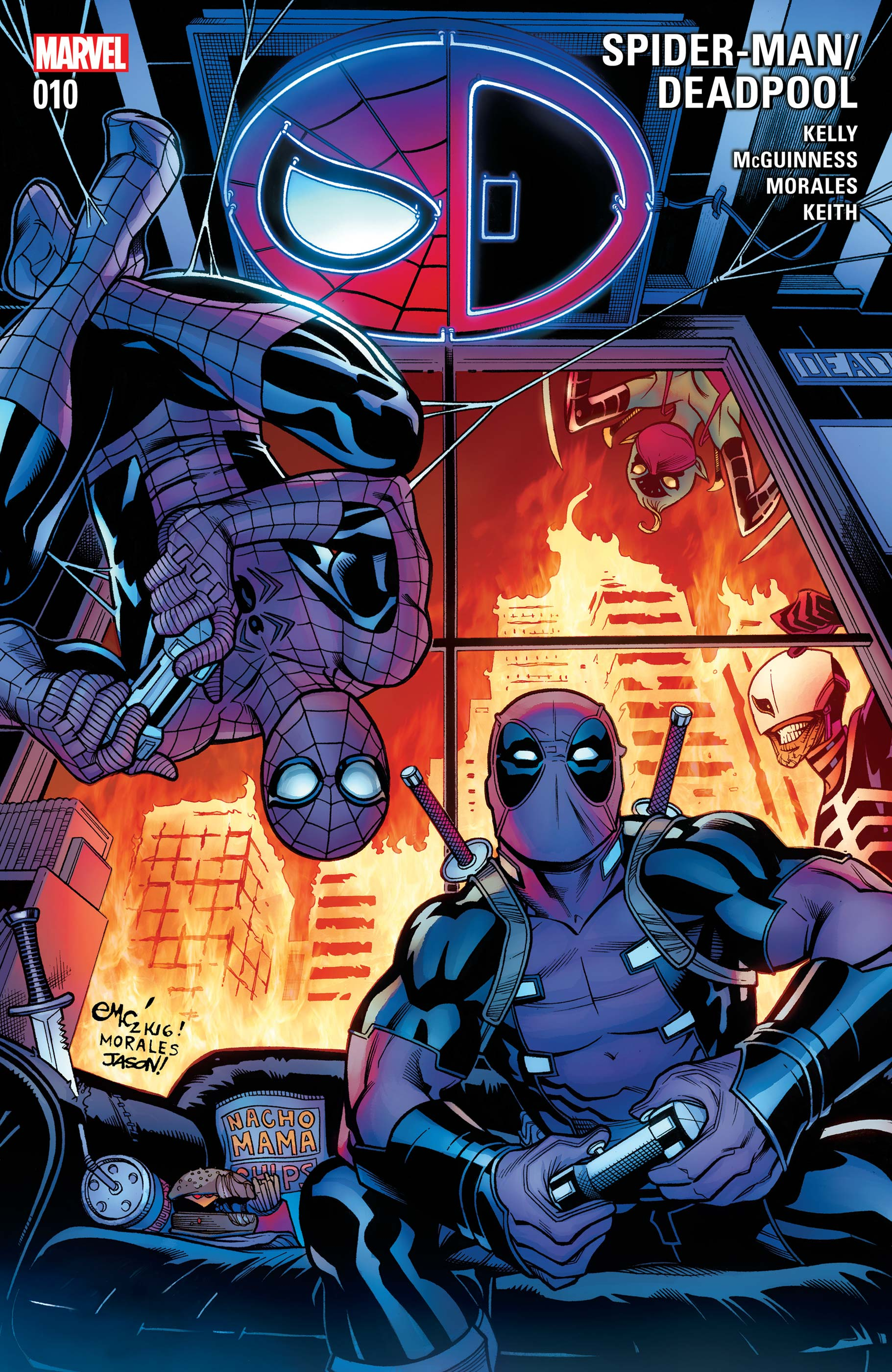 Spider-Man/Deadpool (2016) #10