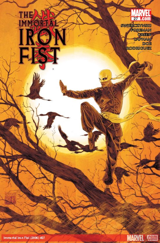 Immortal Iron Fist (2006) #27