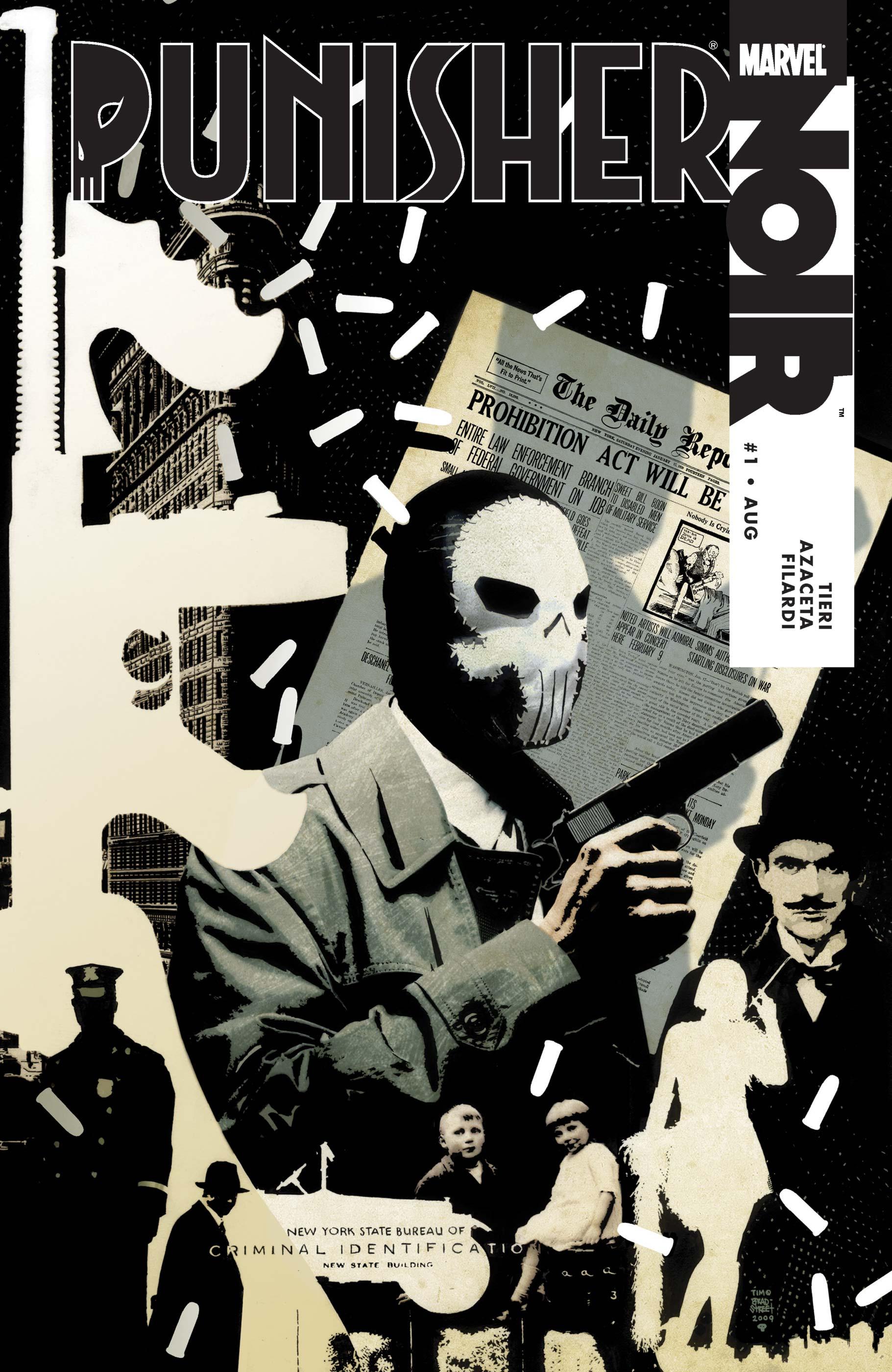 Punisher Noir (2009) #1