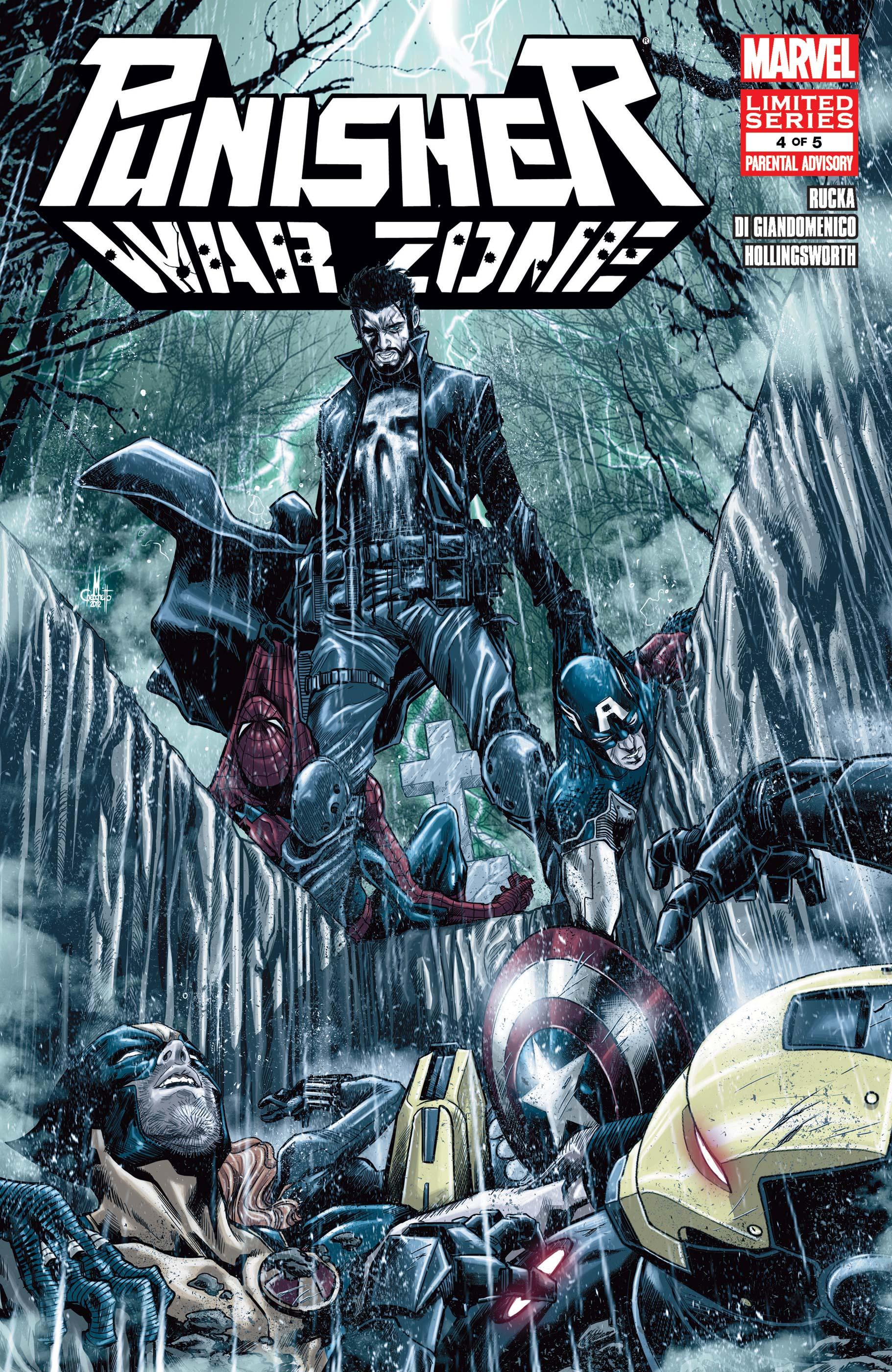 Punisher: War Zone (2012) #4