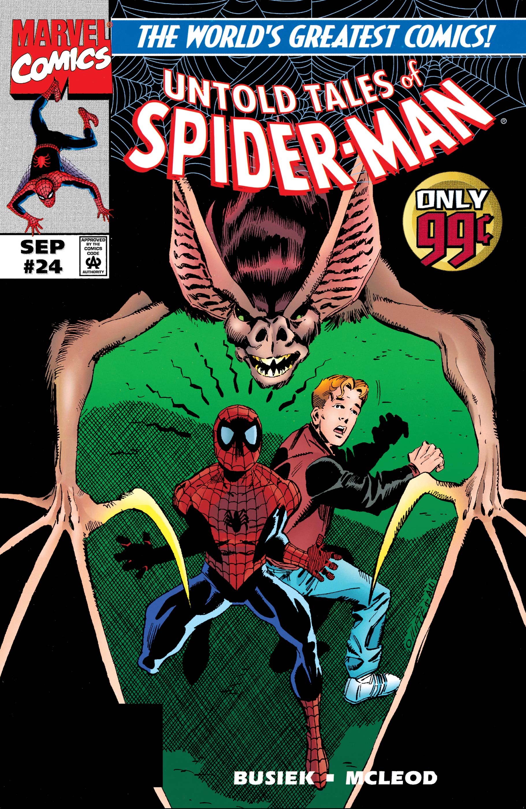 Untold Tales of Spider-Man (1995) #24