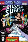 Cover to Silver Surfer Annual (1988) #4