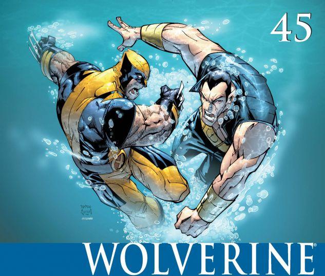 WOLVERINE (2003) #45