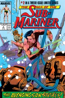 Saga of the Sub-Mariner (1988) #2