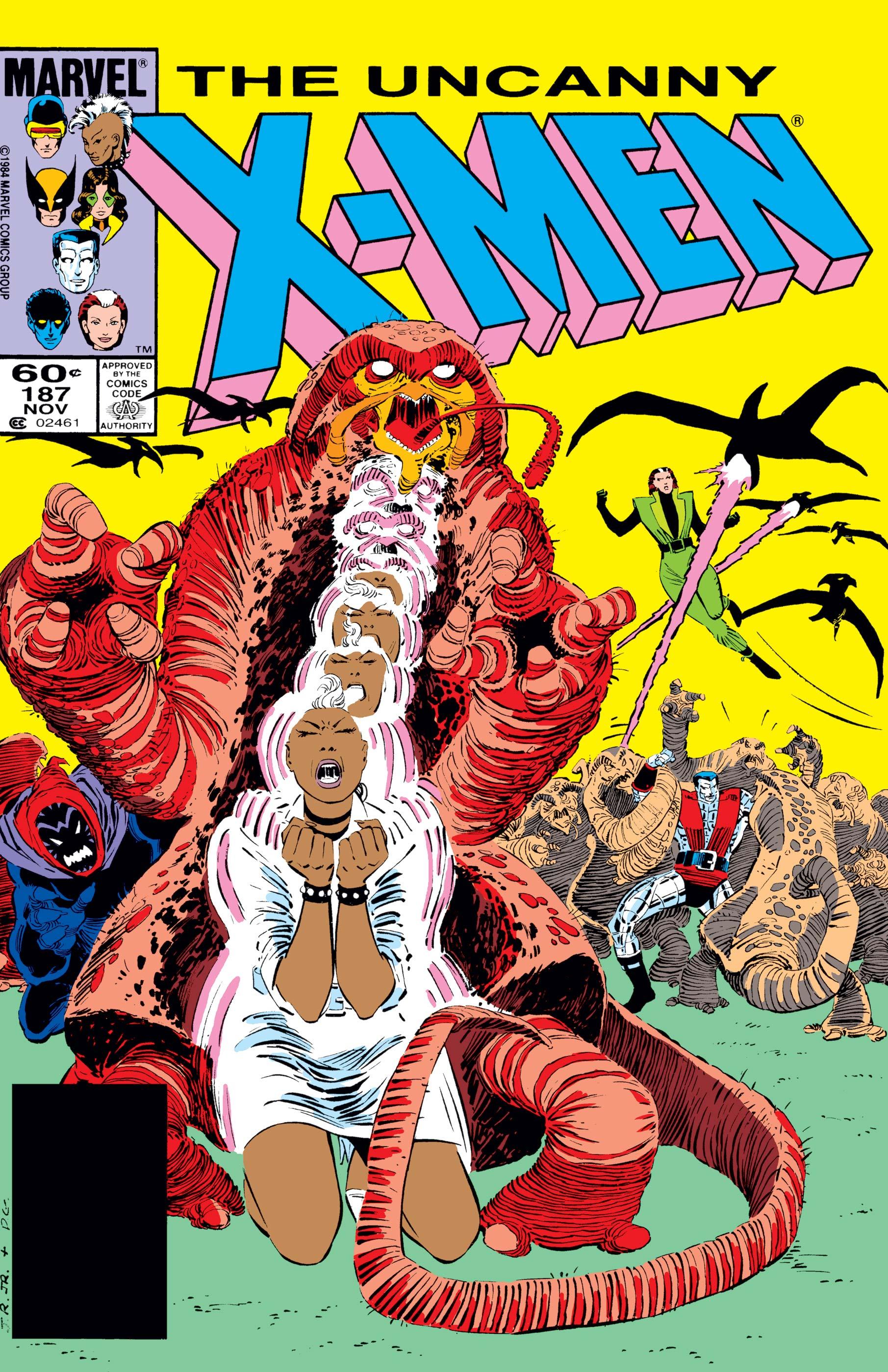 Uncanny X-Men (1963) #187