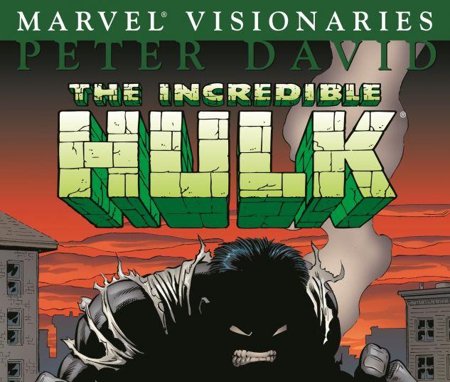 HULK VISIONARIES: PETER DAVID VOL. 1 0 cover